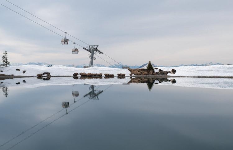 liften meer kitzbuheler alpen oostenrijk