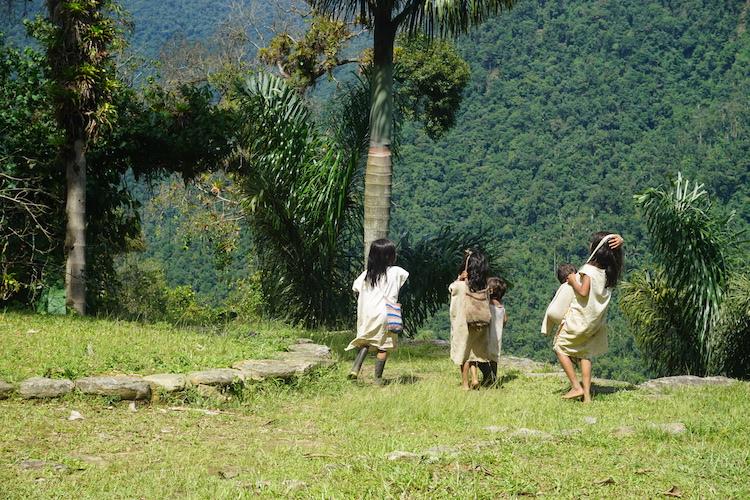 locals verloren stad colombia