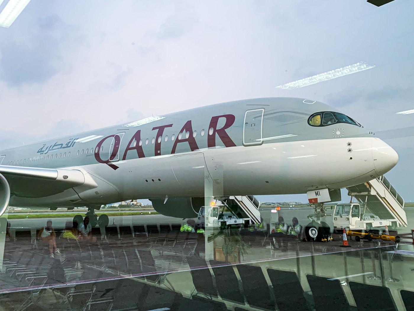 luchthaven lounge qatar airways