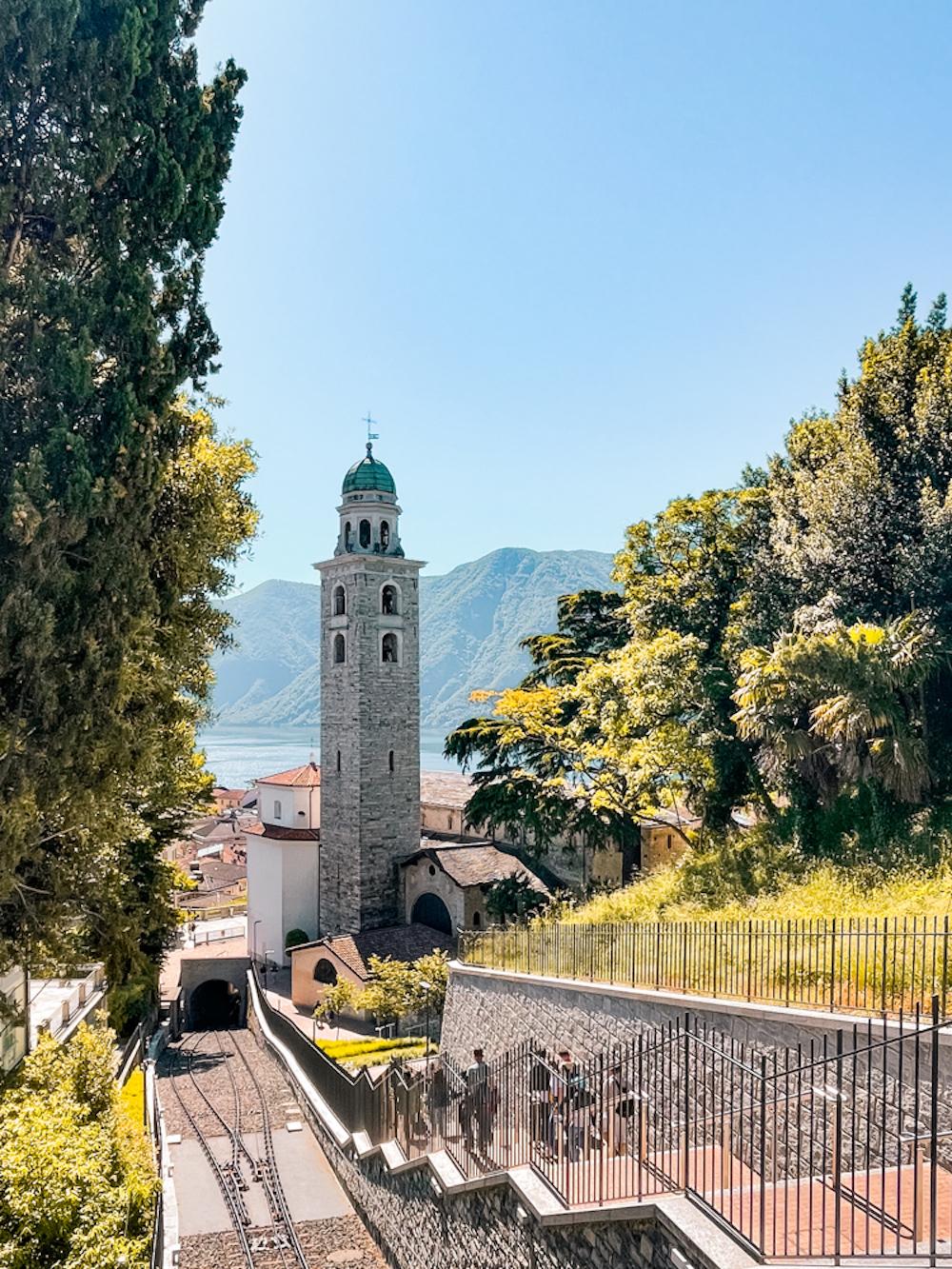 lugano kerk uitzicht zwitserland