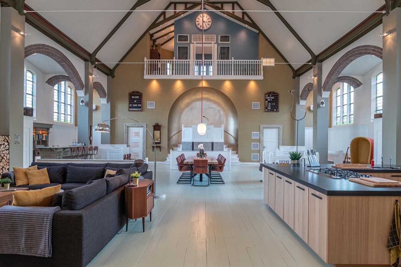 luxe Kerk als vakantiehuisje
