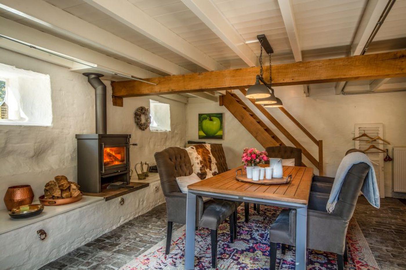 luxe Vakantiehuis nederland openhaard