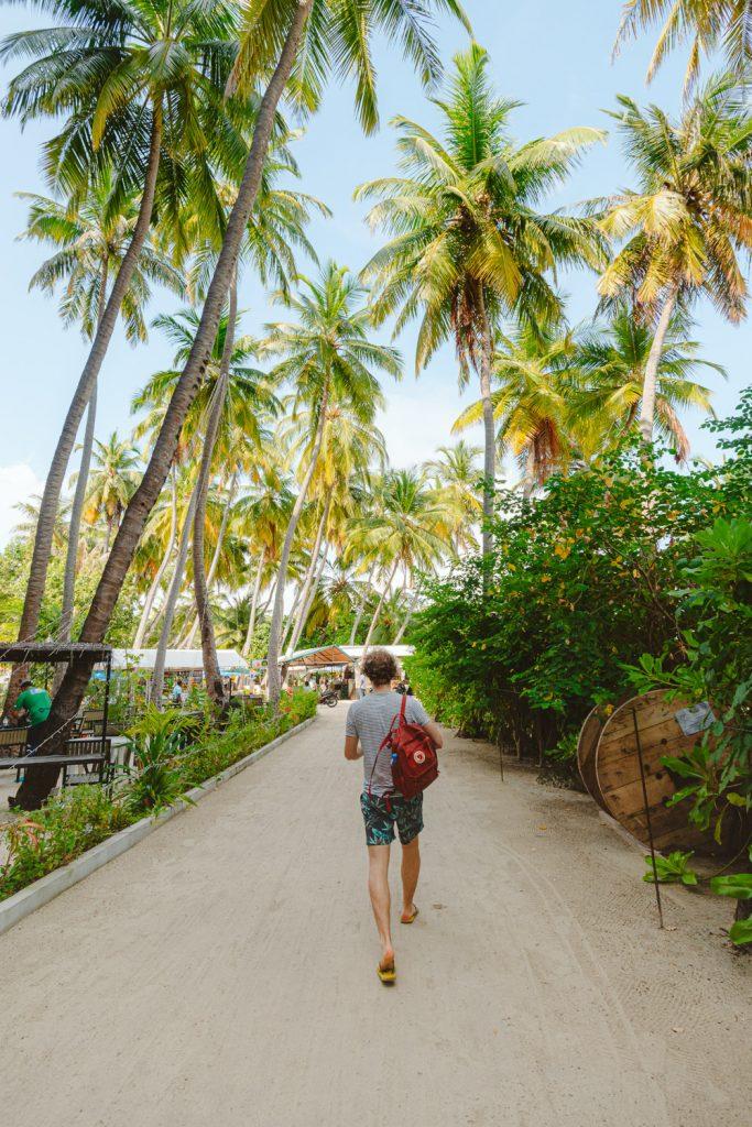 maafushi malediven eilandhoppen route