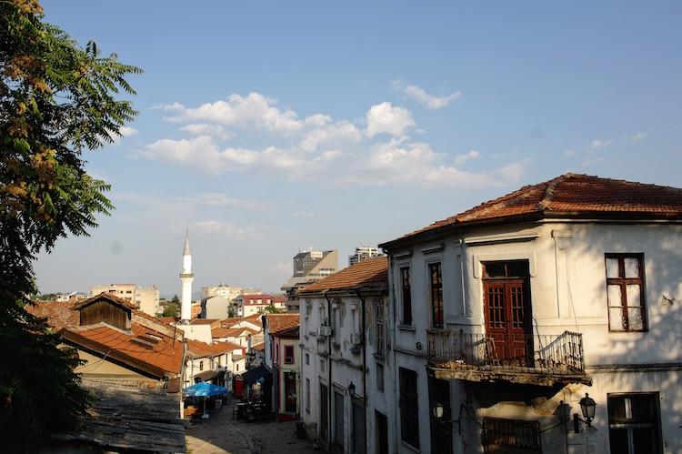 macedonie Skopje oude deel met Arabische invloeden