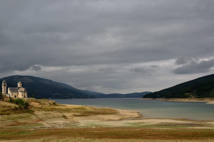 macedonie meer van Mavrovo (2)
