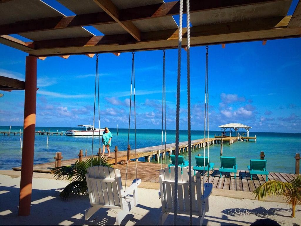 magic beach resort belize caye caulker