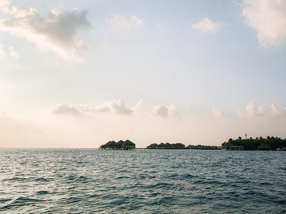 malediven zonsopgang