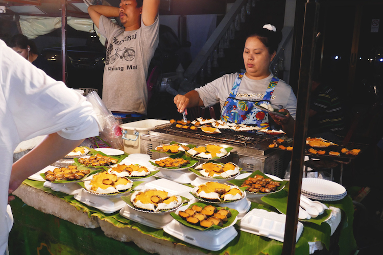 markt in Chiang Mai streetfood