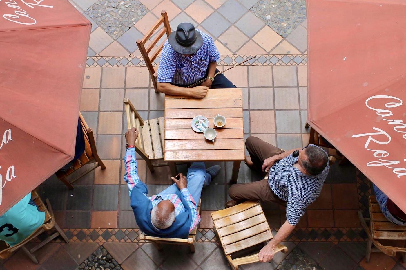 medellin colombia terrasje