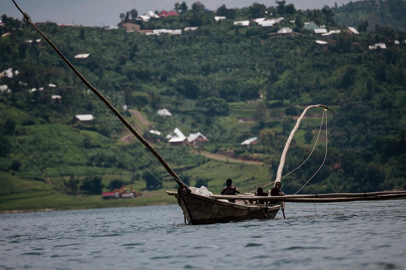 meer in rwanda lake