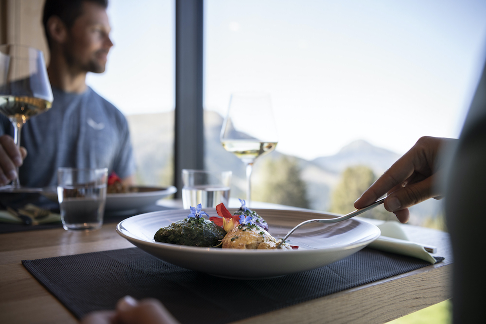 Restoran berbintang Michelin Eggental South Tyrol