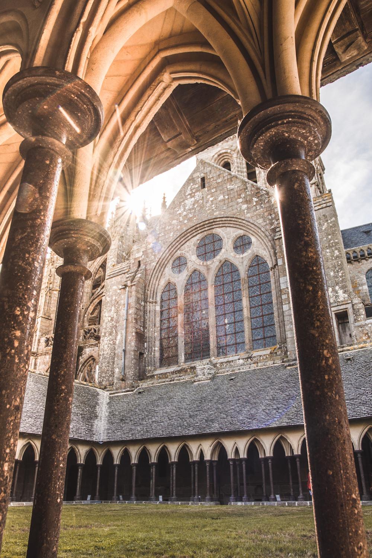 mont saint michel bezoeken binnen