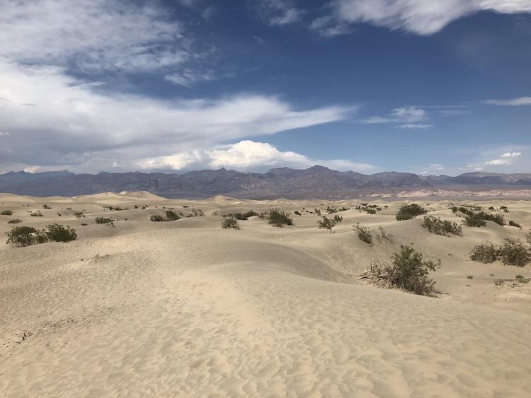 mooiste nationale parken amerika Death valley
