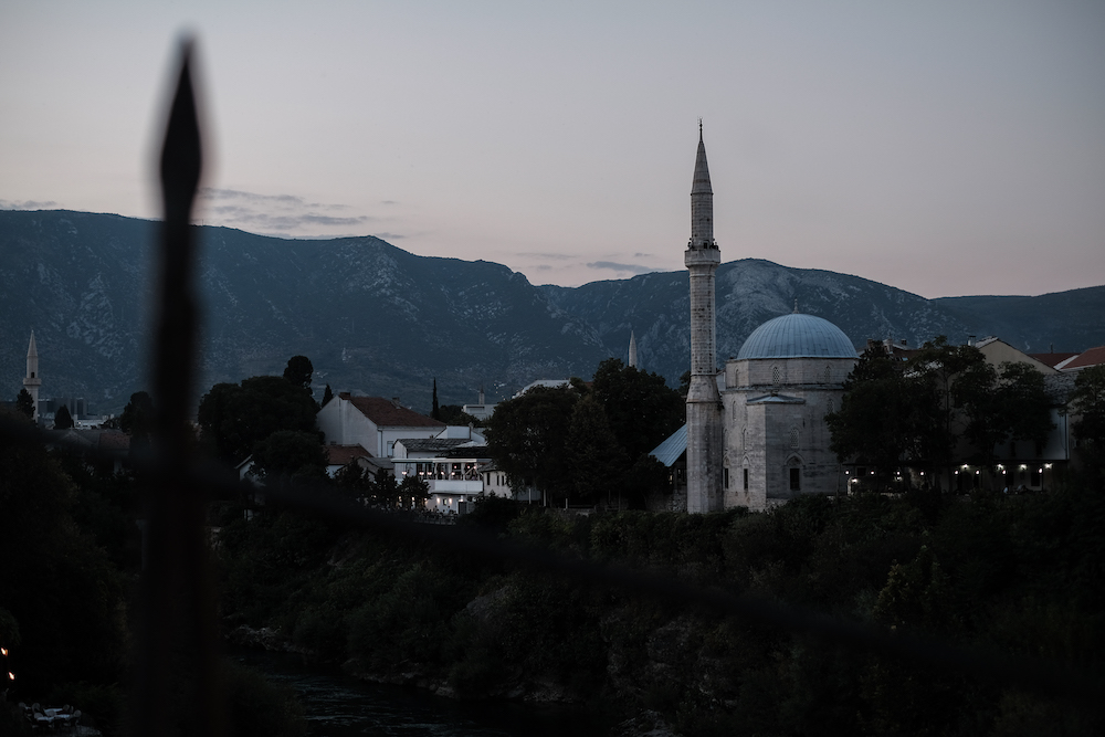 moskee mostar bosnie