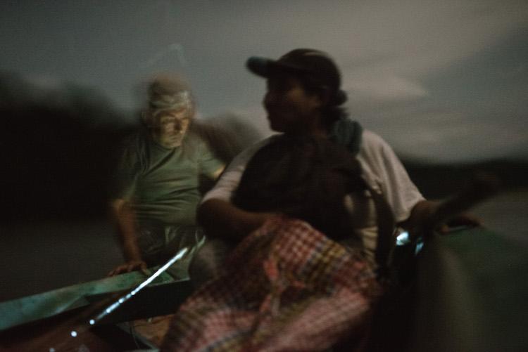 nachtelijk vissen Arturo jungle peru