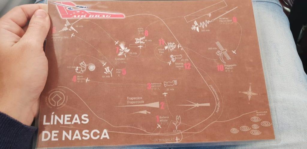 nazca lijnen bezoeken peru kaart