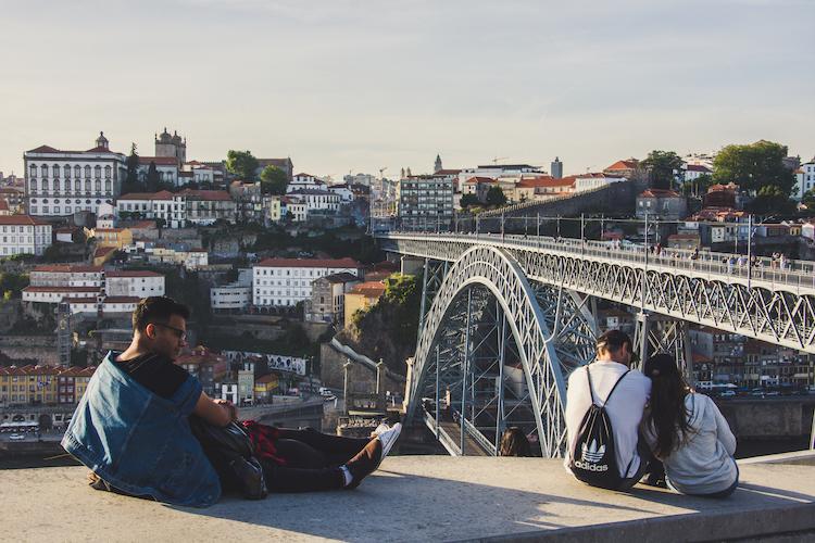 noord portugal Brug porto uitzicht