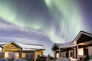 noorderlicht lapland fotograferen