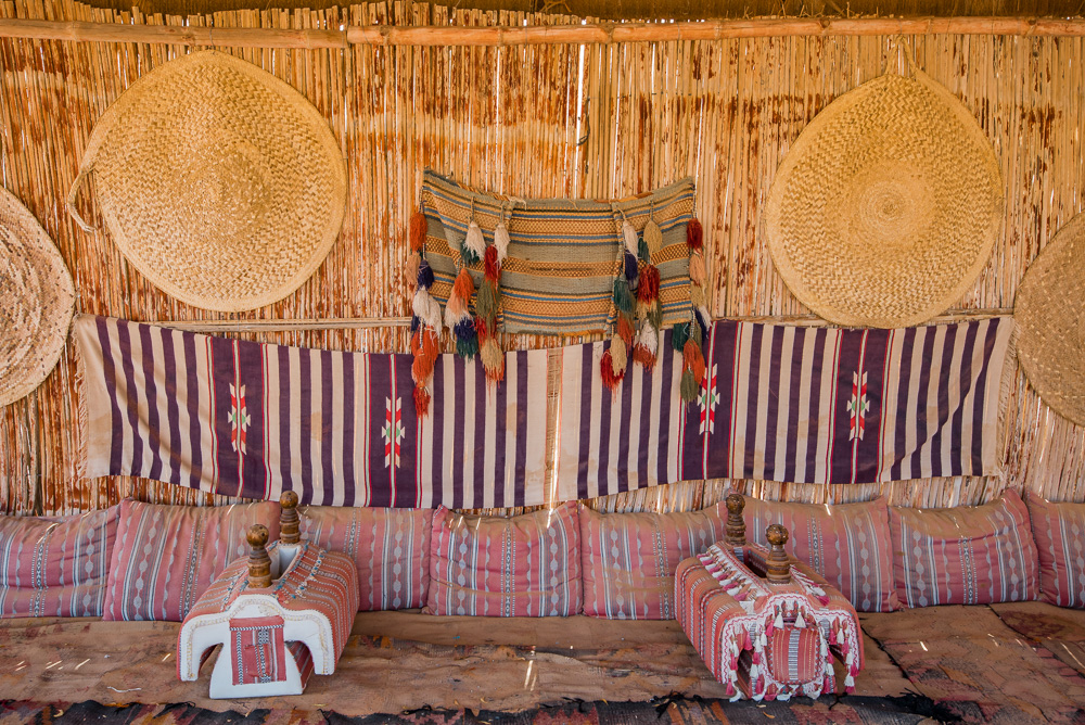 oman woestijn tentenkamp desert