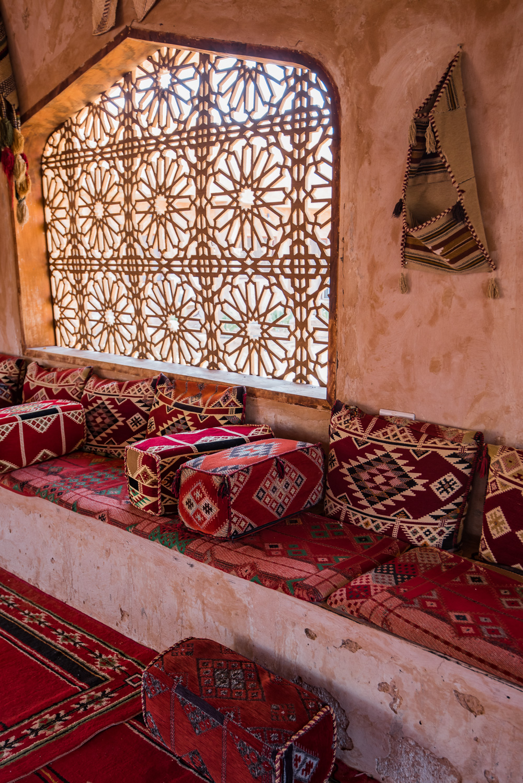 oman woestijn tentenkamp