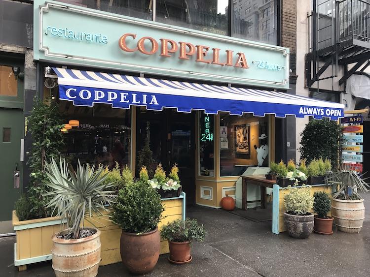 ontbijten new york Coppelia