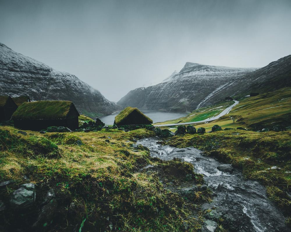 op vakantie naar Faroer Eilanden