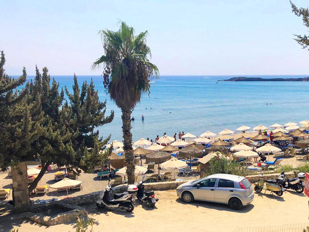 op vakantie naar kos paradise beach