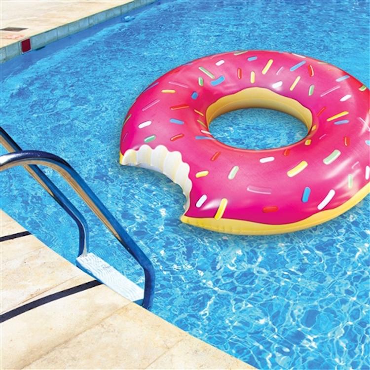 opblaasbare donut zwemband zembad speelgoed
