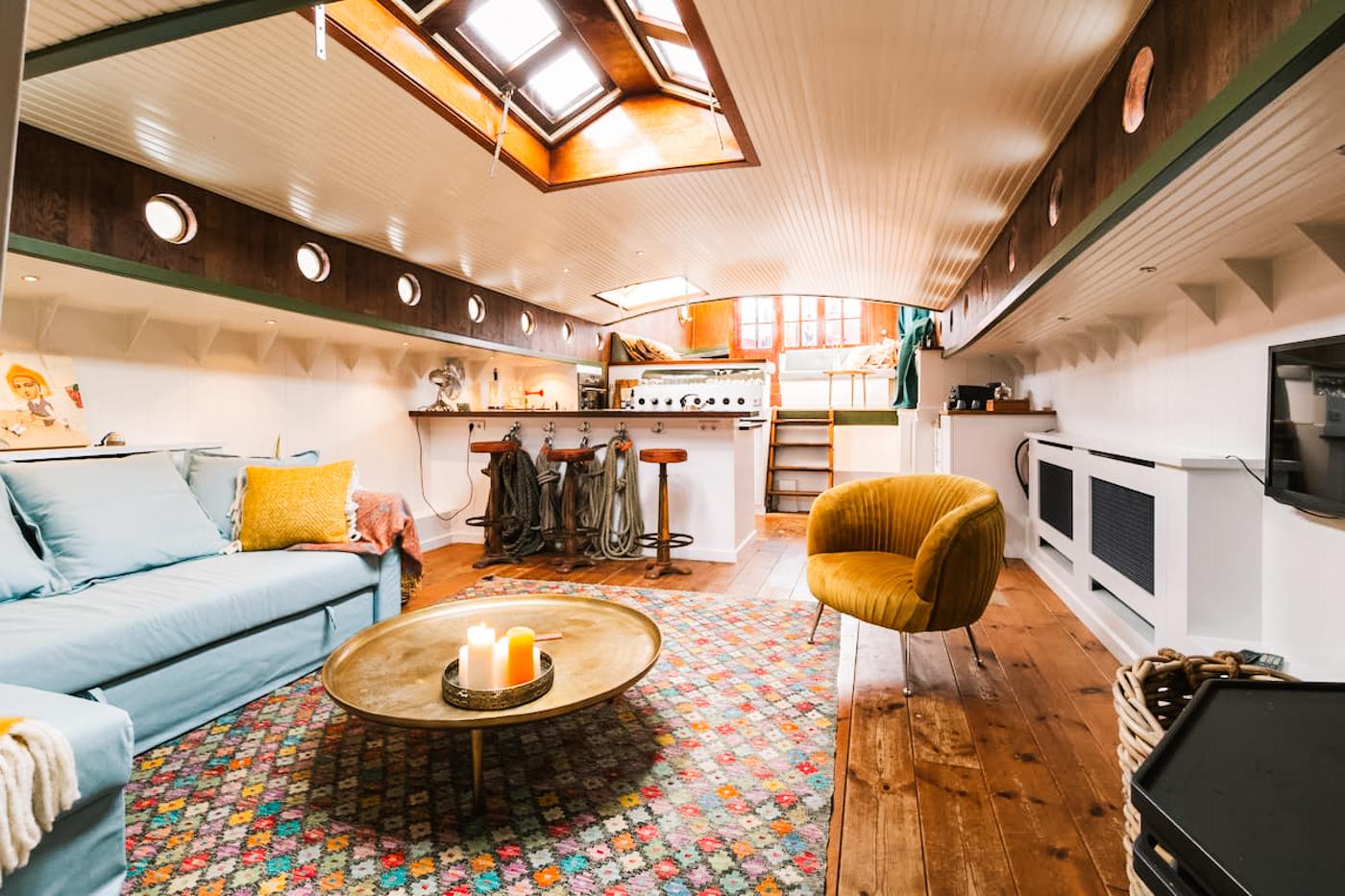 overnachten op een boot in Utrecht