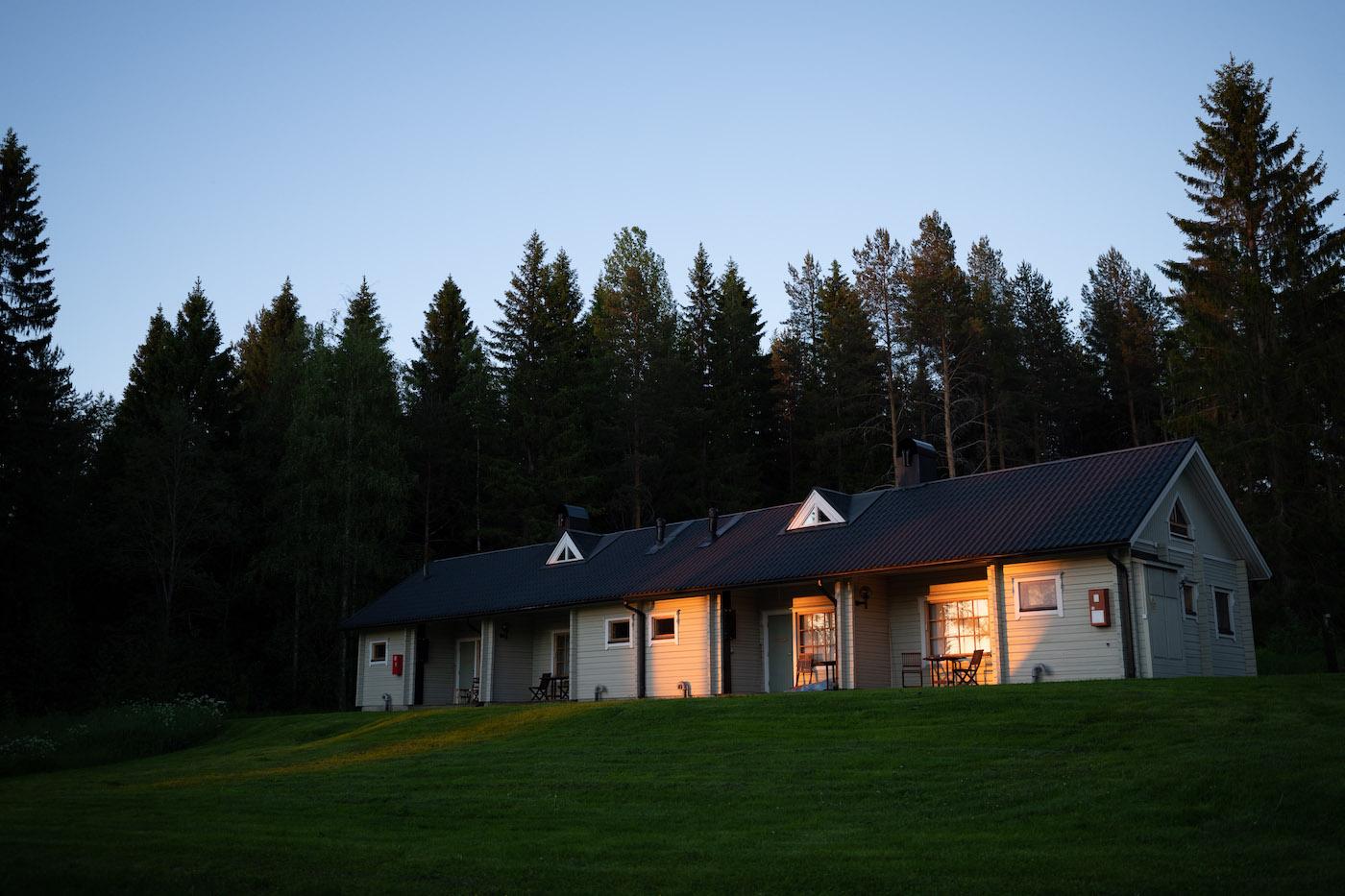 overnachten tijdens vakantie finland