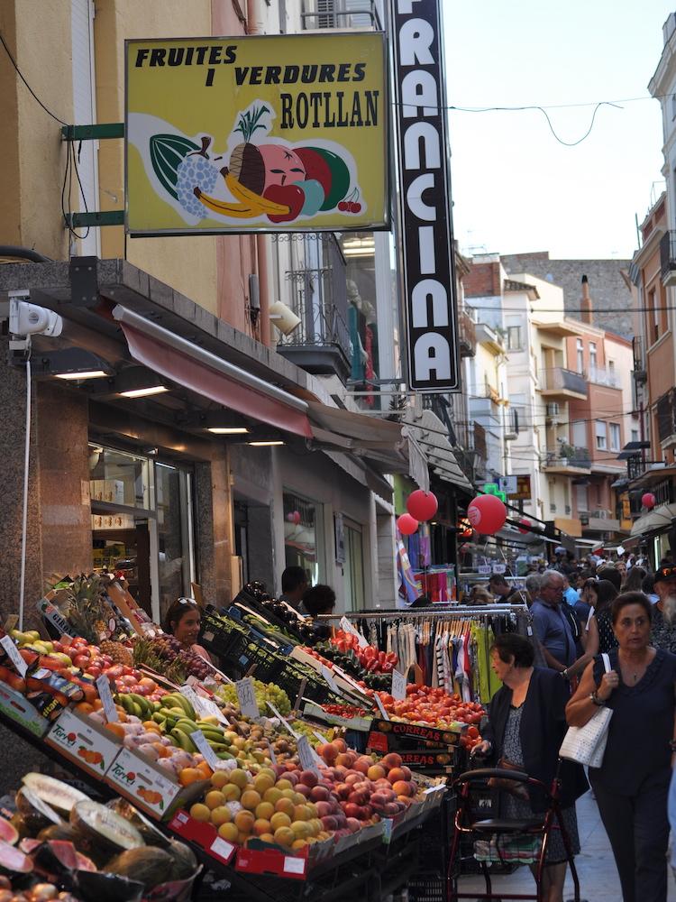 palamos markt in spanje