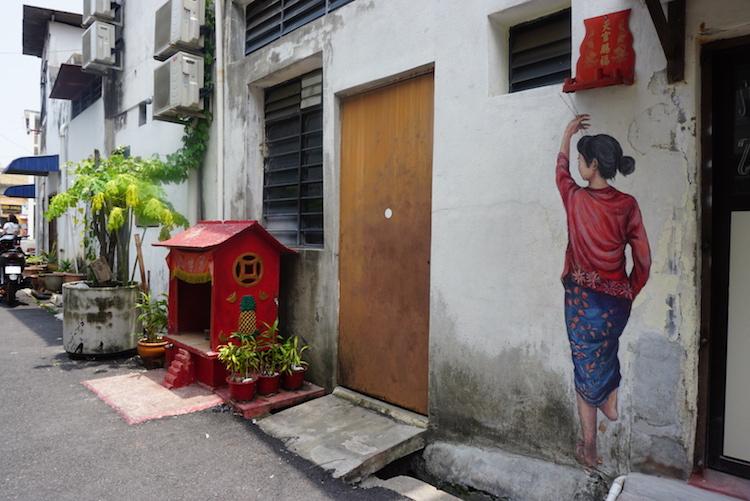 penang maleisie streetart