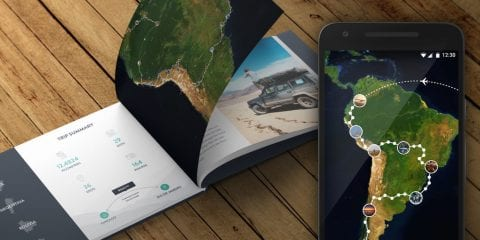 polarsteps app travelbooks kortingscode