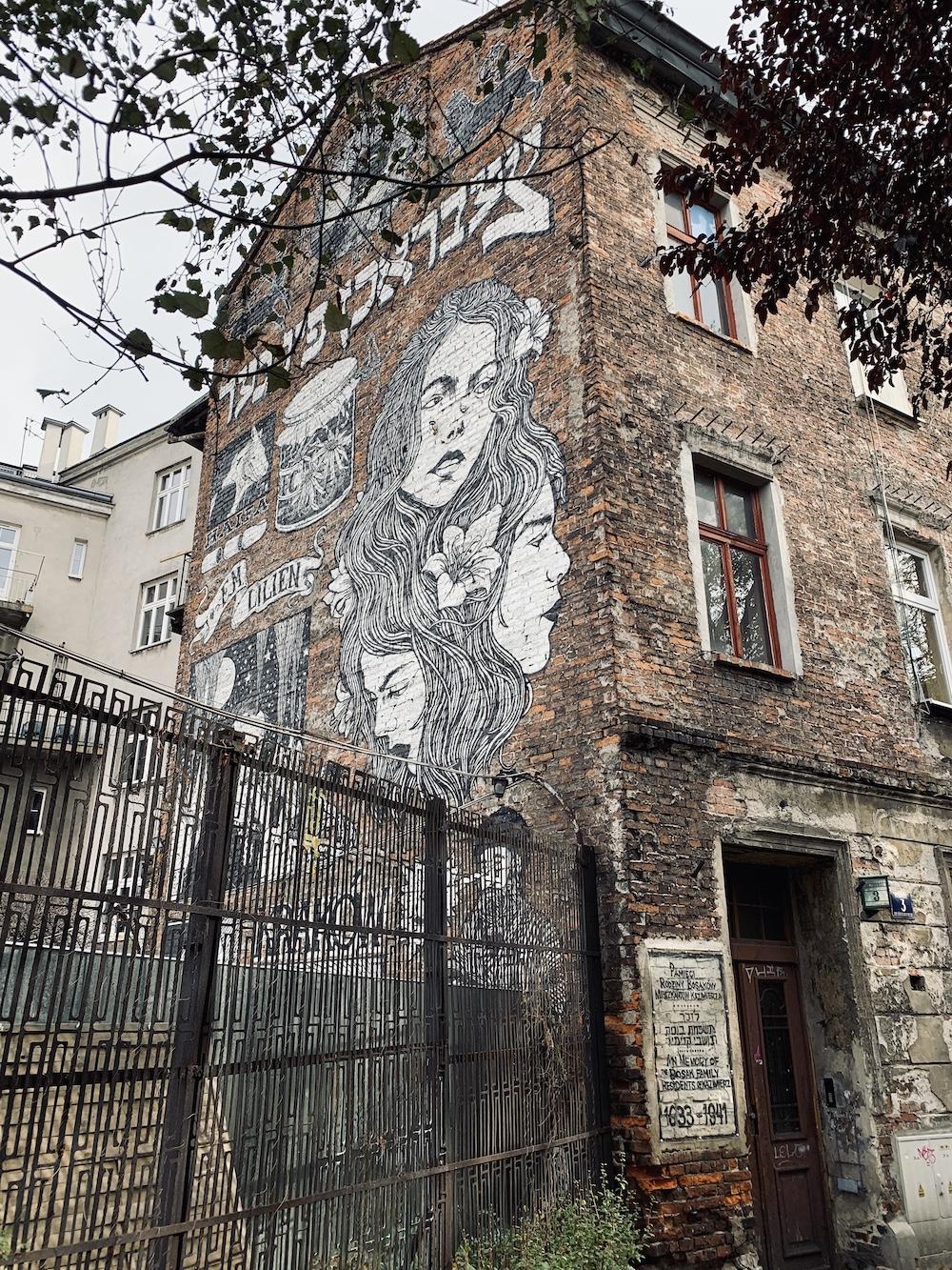 polen krakau streetart