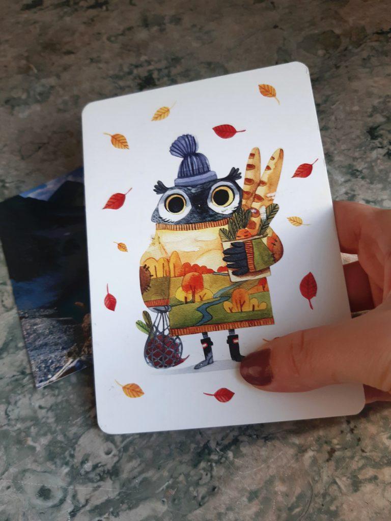 postcrossing kaartje