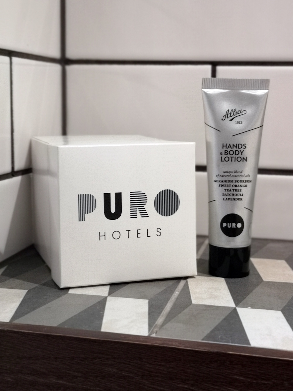 puro Hotel gdansk badkamer