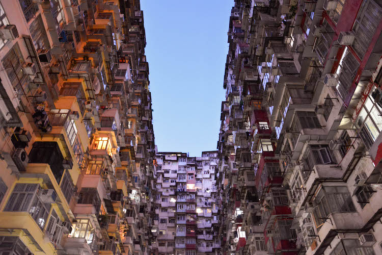 quarry bay gebouwen in hong kong