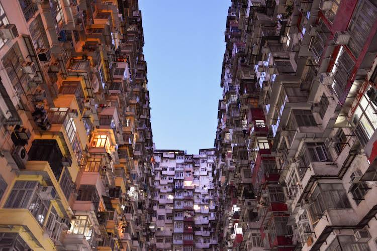 quarry bay gebouwen in hong kong