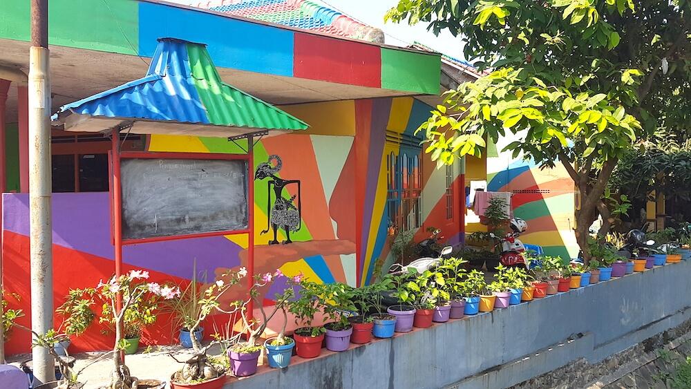rainbow village Kampung Pelangi Semarang
