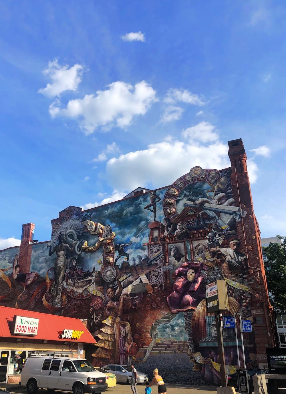 reis naar philadelphia streetart kunst