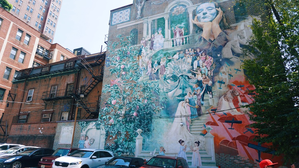 reis naar philadelphia streetart tips