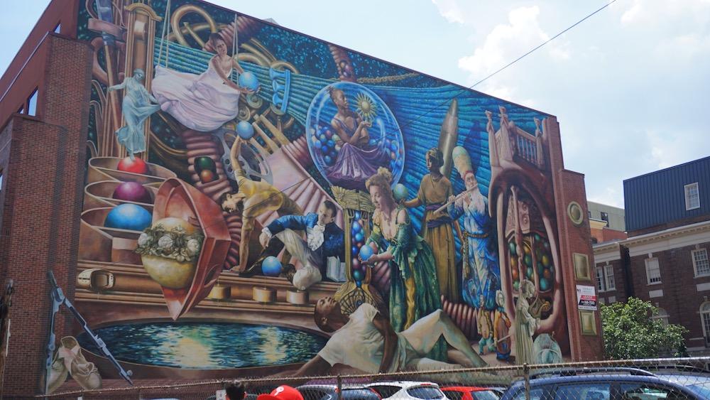 reis naar philadelphia streetart tours
