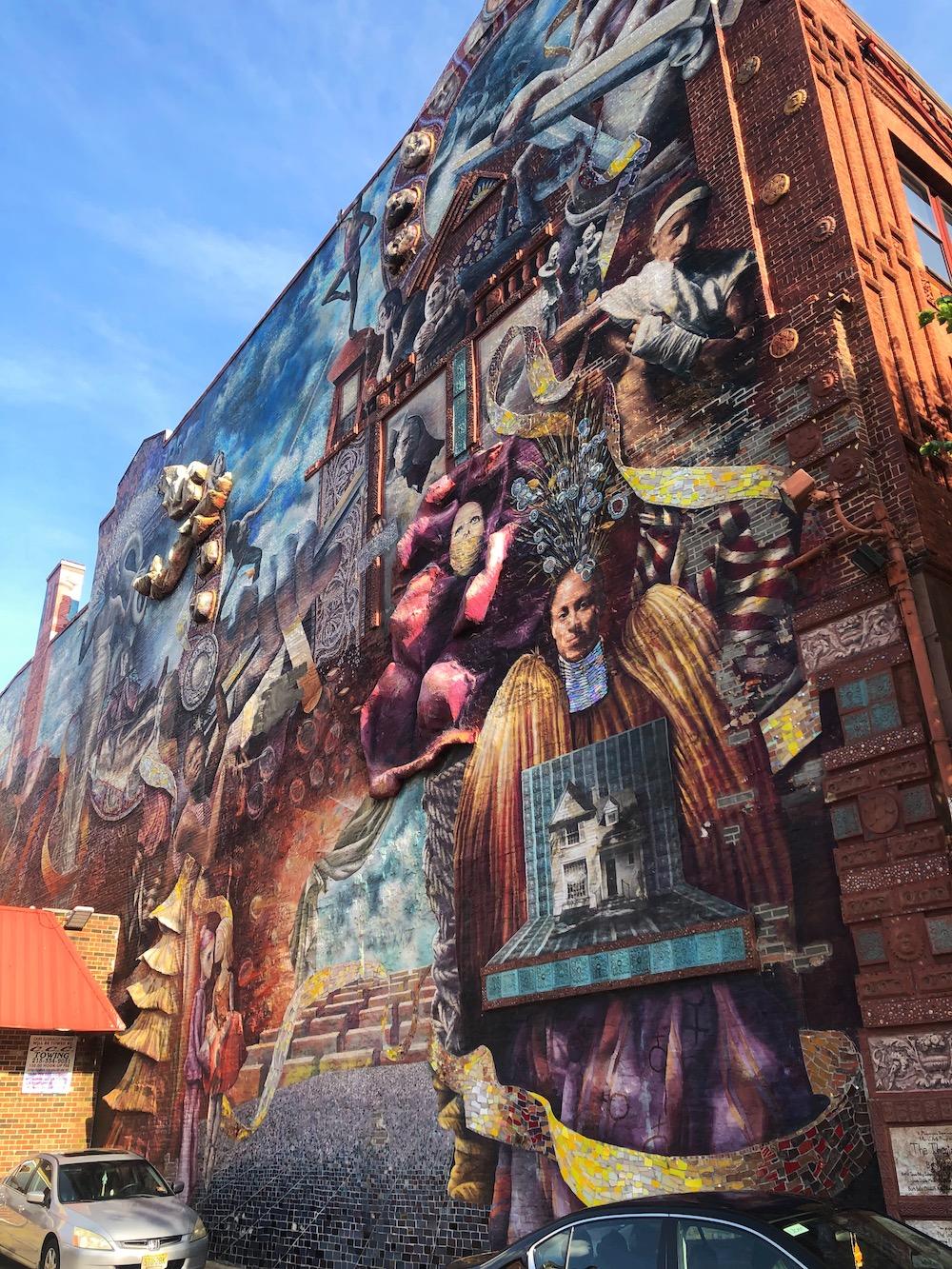 reis streetart philadelphia kunst