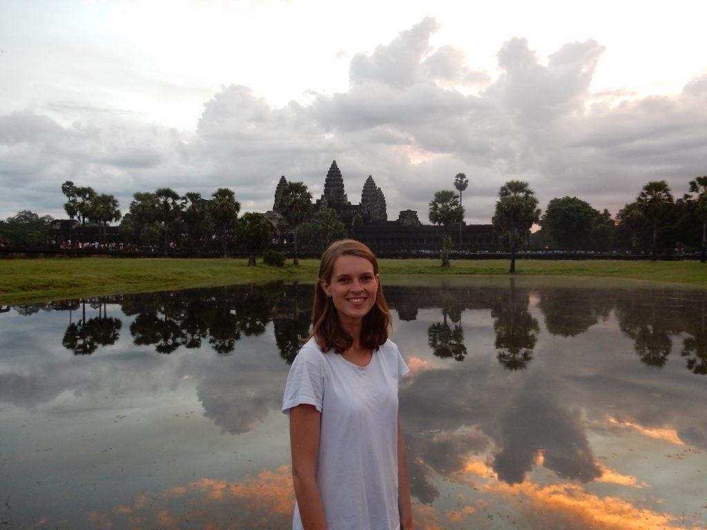 reizen beperking weinig energie In Angkor Wat