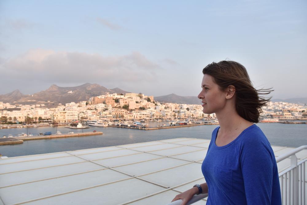 reizen beperking weinig energie boot in Griekenland