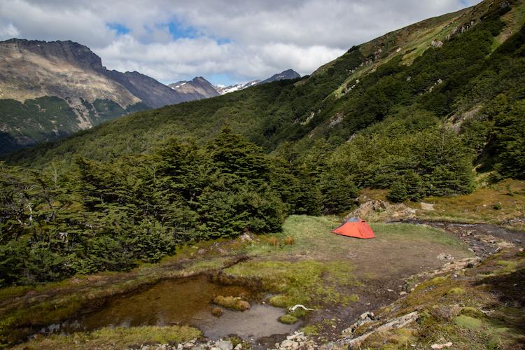 reizen naar patagonie vrijkamperen
