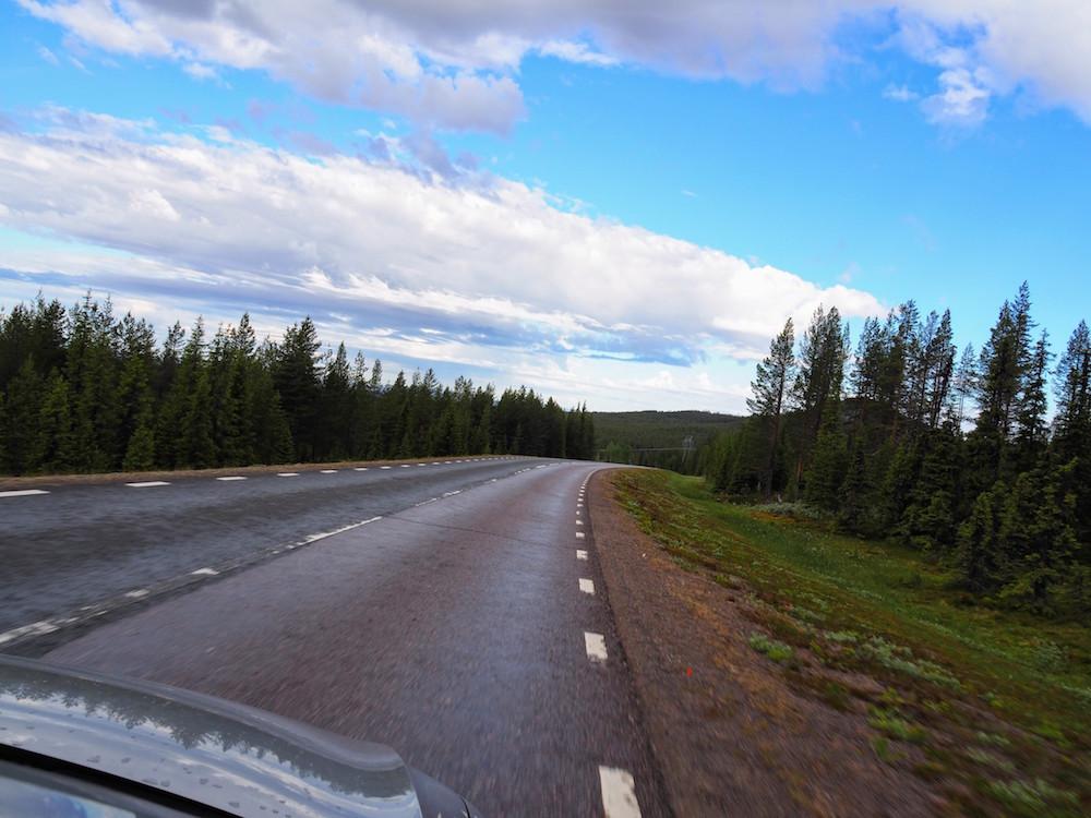 rijden in lapland