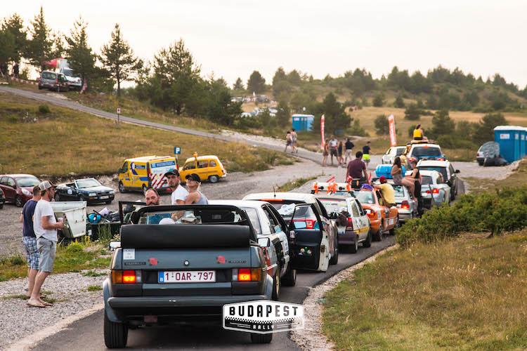 roadtrip de Budapest Rally