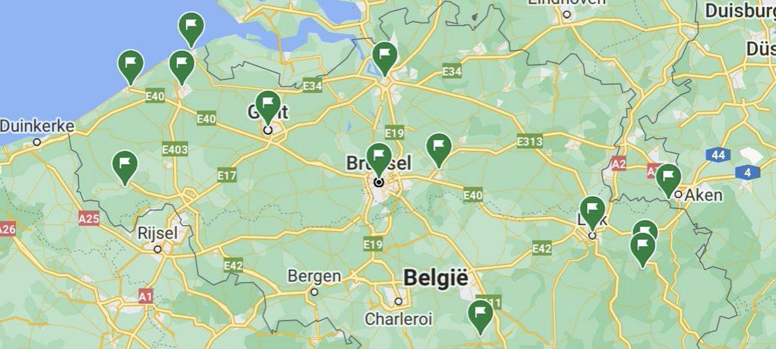 roadtrip in belgie
