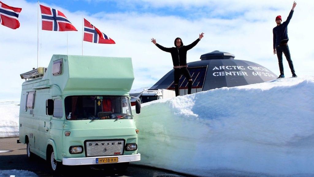 roadtrip noorwegen winter